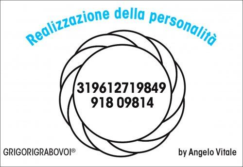 Tessera Radionica 101 - Realizzazione della Personalità