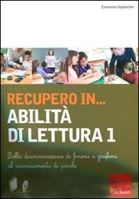 Recupero in... Abilità di Lettura Vol. 1 - Cofanetto Libro + CD-ROM