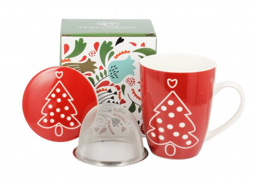Tisaniera Red Christmas