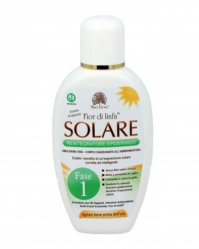 Solare Reintegratore Epidermico Fior di Linfa - Fase 1 (Senza Profumo)