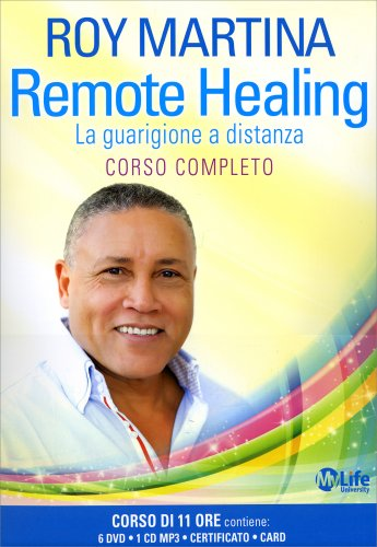 Remote Healing - Corso Completo con 6 DVD e 1 CD Mp3