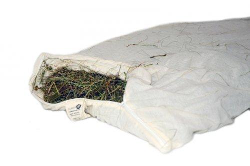 Cuscino in Cotone e Fieno Alpino Bio