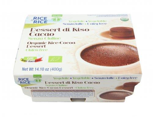 Dessert di Riso al Cacao -Rice & Rice