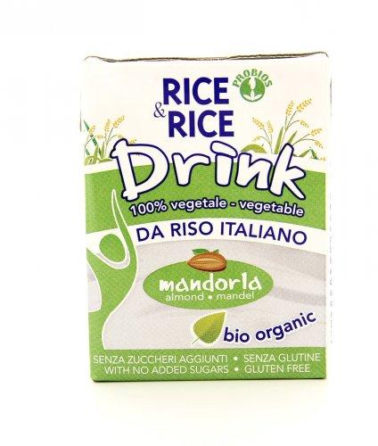 Rice & Rice Drink alla Mandorla