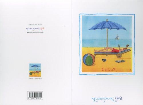 Riflessi di Mare Card - Relax Uomo Lettino
