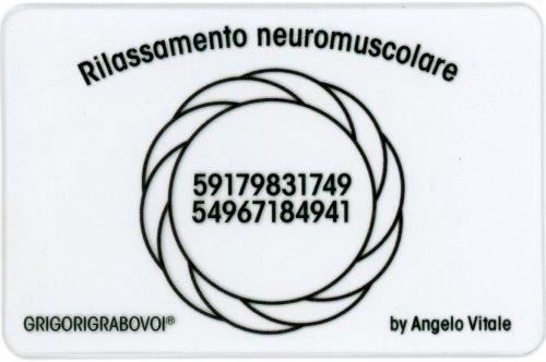 Tessera Radionica 90 - Rilassamento Neuromuscolare