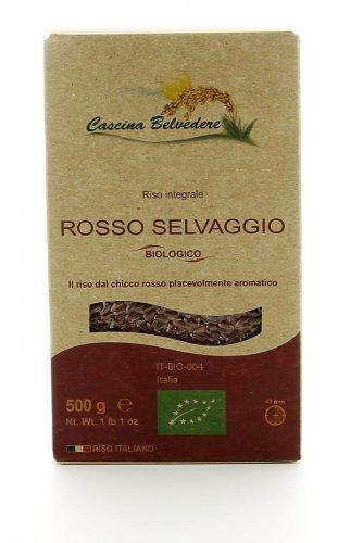 Riso Integrale Rosso Selvaggio Bio - 500 gr.