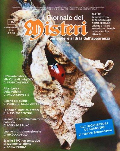 Il Giornale dei Misteri n. 536 - Marzo/Aprile 2018