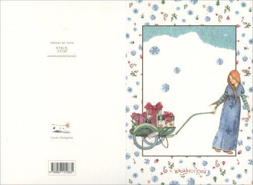 Romantic Card - Carriola Pacchi di Natale