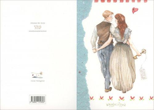 Biglietto d'Auguri - Romantic Card Fidanzati