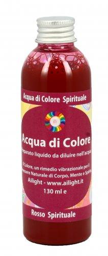 Acqua di Colore Spirituale Rosso