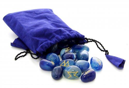 Rune in Onice Blu