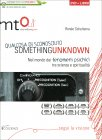 Something Unknown - Qualcosa di Sconosciuto - DVD