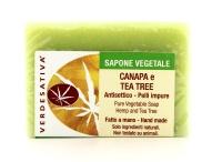 Sapone Vegetale Canapa e Tea Tree