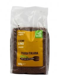 Semi di Lino Scuro Biologici - Da Filiera Italiana