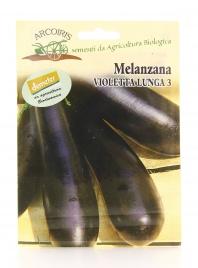 Semi di Melanzana Violetta Lunga di Rimini - 5 Gr