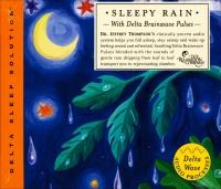 Sleepy Rain with Delta Brainwave Pulses