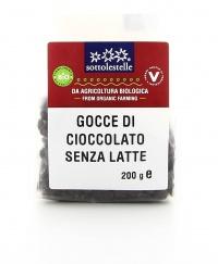 Gocce di Cioccolato Senza Latte