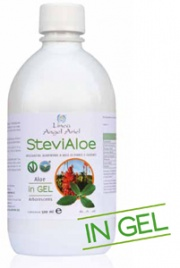 SteviAloe Arborescens in Gel