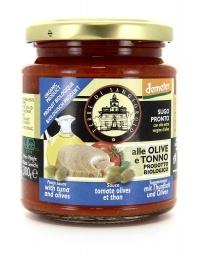 Sugo alle Olive e Tonno - 300 g.