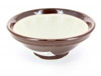 Suribachi - Mortaio in Ceramica Medio Diametro 18,5 cm