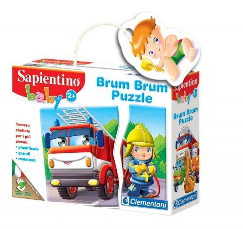Sapientino Baby - Brum Brum Puzzle