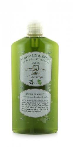 Sapone di Aleppo Liquido con Olio di Oliva e Alloro