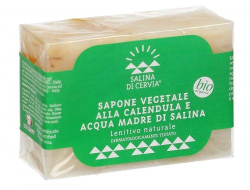 Sapone Vegetale alla Calendula e Acqua Madre di Salina