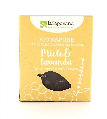 Sapone all'Olio Extravergine d'Oliva - Miele e Lavanda