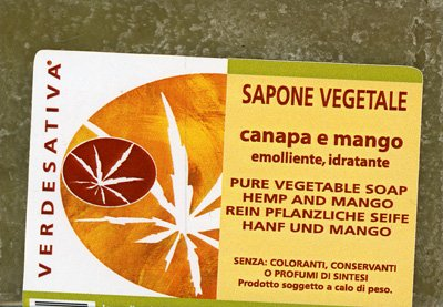 Sapone Vegetale Canapa e Mango
