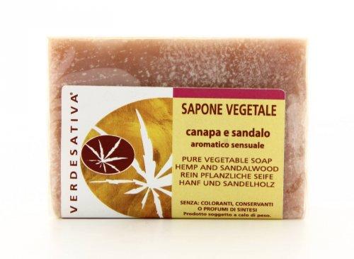 Sapone Vegetale Canapa e Sandalo