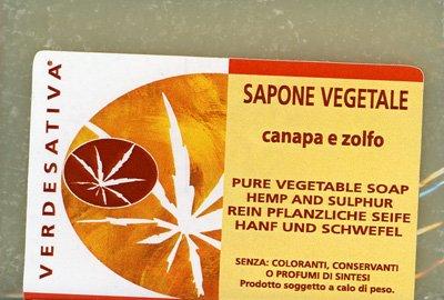 Sapone Vegetale Canapa e Zolfo