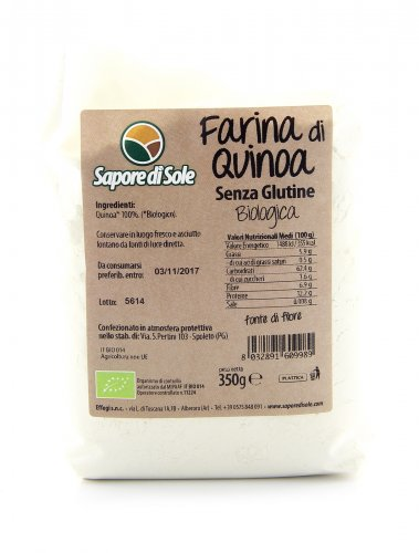 Farina di Quinoa Senza Glutine Biologica