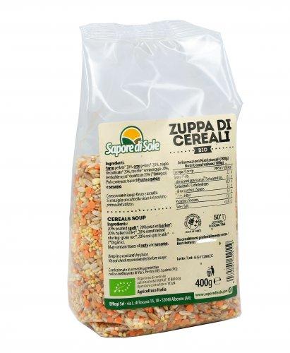 Zuppa di Cereali Biologici
