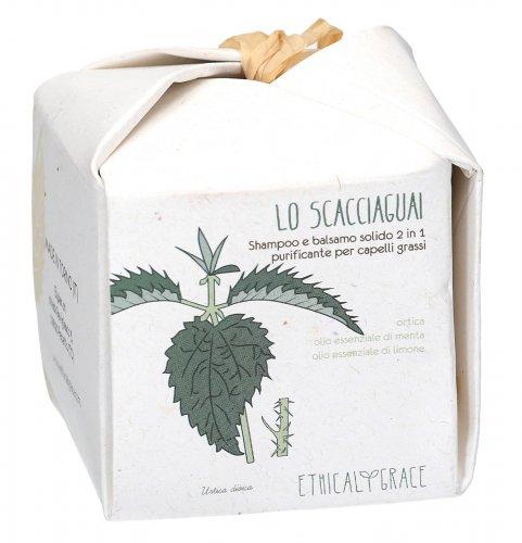 Lo Scacciaguai - Shampoo e Balsamo Solido 2 in 1 Purificante