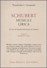 Schubert: Musica e Lirica