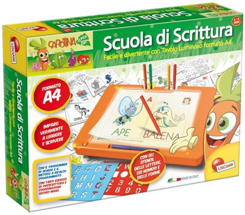 Scuola di Scrittura con il Tavolo Luminoso