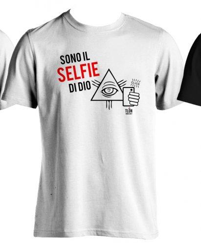 T-Shirt - Sono il Selfie di Dio