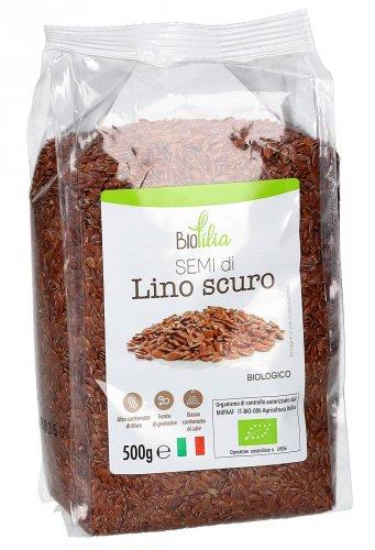 Semi di Lino Scuro Bio