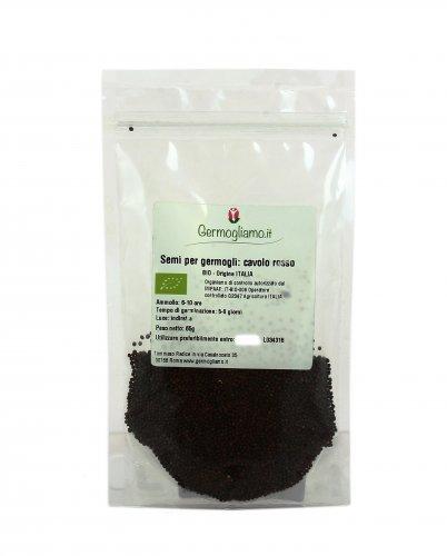 Semi per Germogli - Cavolo Rosso