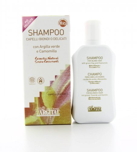 Shampoo per Capelli Biondi o Delicati