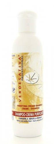 Shampoo-Crema Purificante Canapa e Argilla Bianca