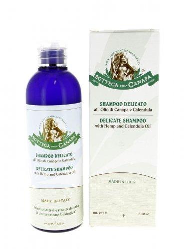 Shampoo Delicato all'Olio di Canapa e Calendula