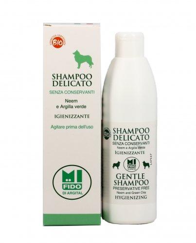 Shampoo Delicato Igienizzante per Cani