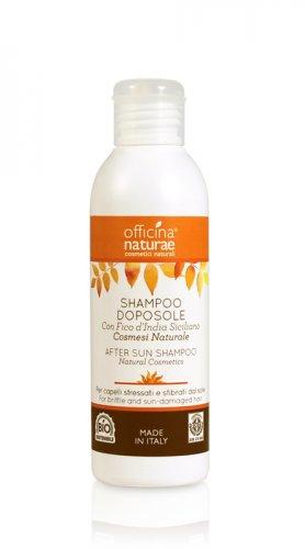 Shampoo Doposole con Fico d'India Siciliano