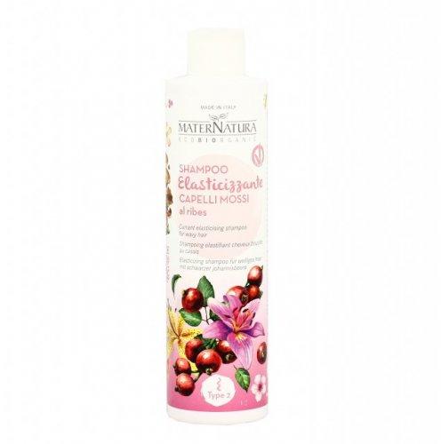 Shampoo Elasticizzante per Capelli Mossi al Ribes