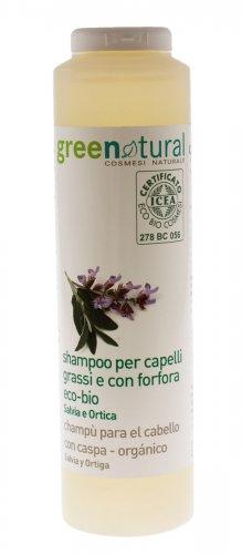 Shampoo per Capelli Grassi e con Forfora Eco-Bio