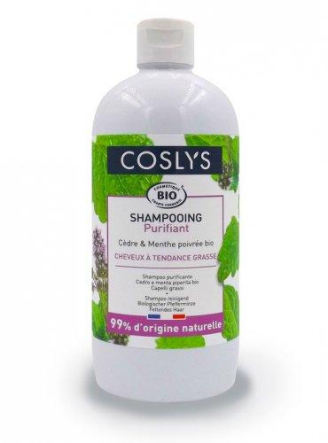 Shampoo Purificante Cedro e Menta Piperita Bio