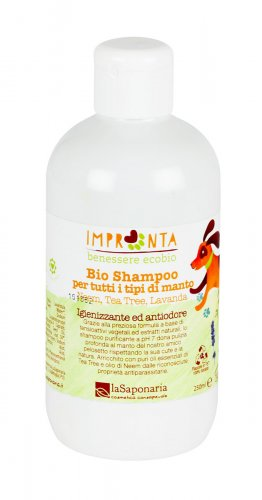 Shampoo Purificante Neem, Tea Tree E Lavanda - 250Ml (Li004M250)