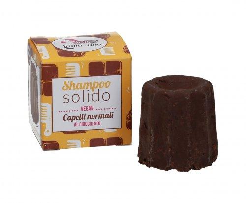 Shampoo Solido Capelli Normali al Cioccolato